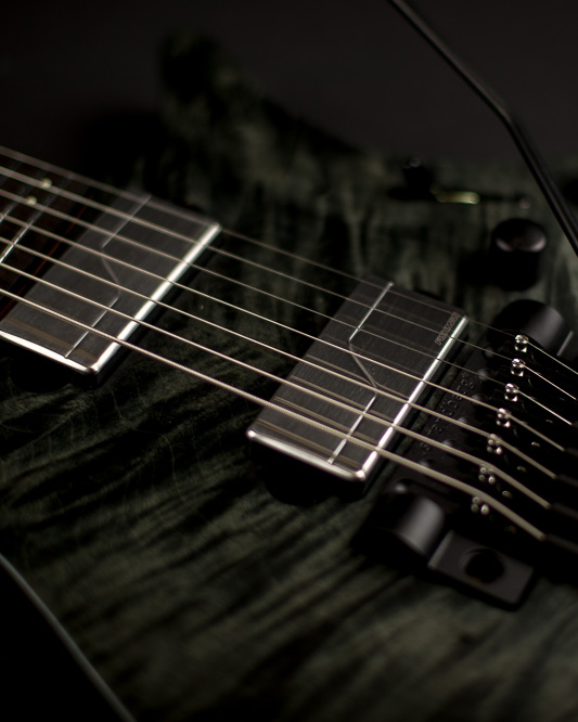 Headless Guitar Boden Prog Trem 6 string Black