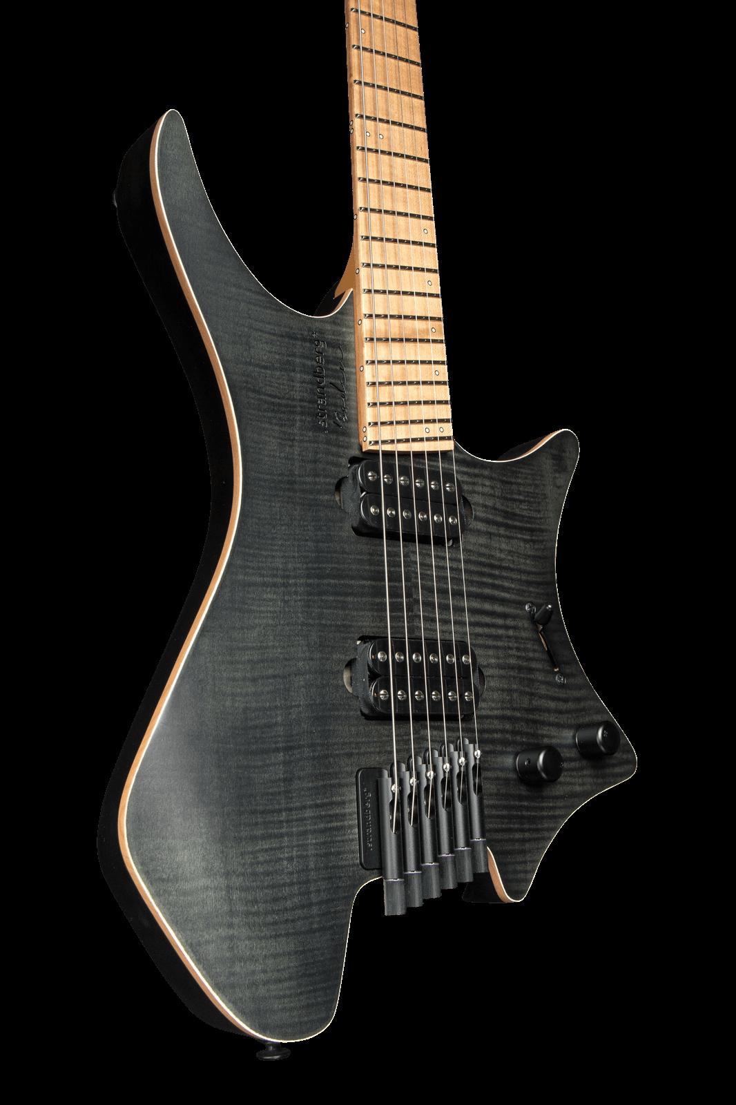 Boden Standard 6 Maple Flame Black Strandberg Guitars