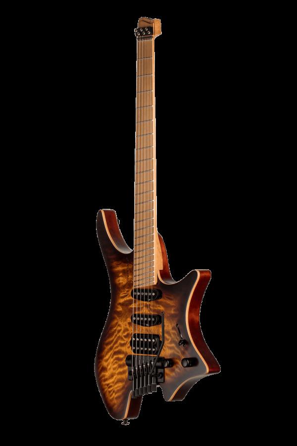 Headless guitar boden standard temolo 6 string bengal burst