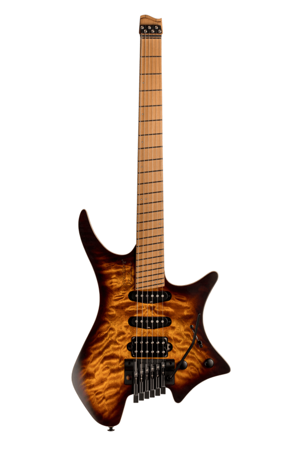 Boden Standard 6-string guitar Tremolo Maple Quilt Bengal Burst