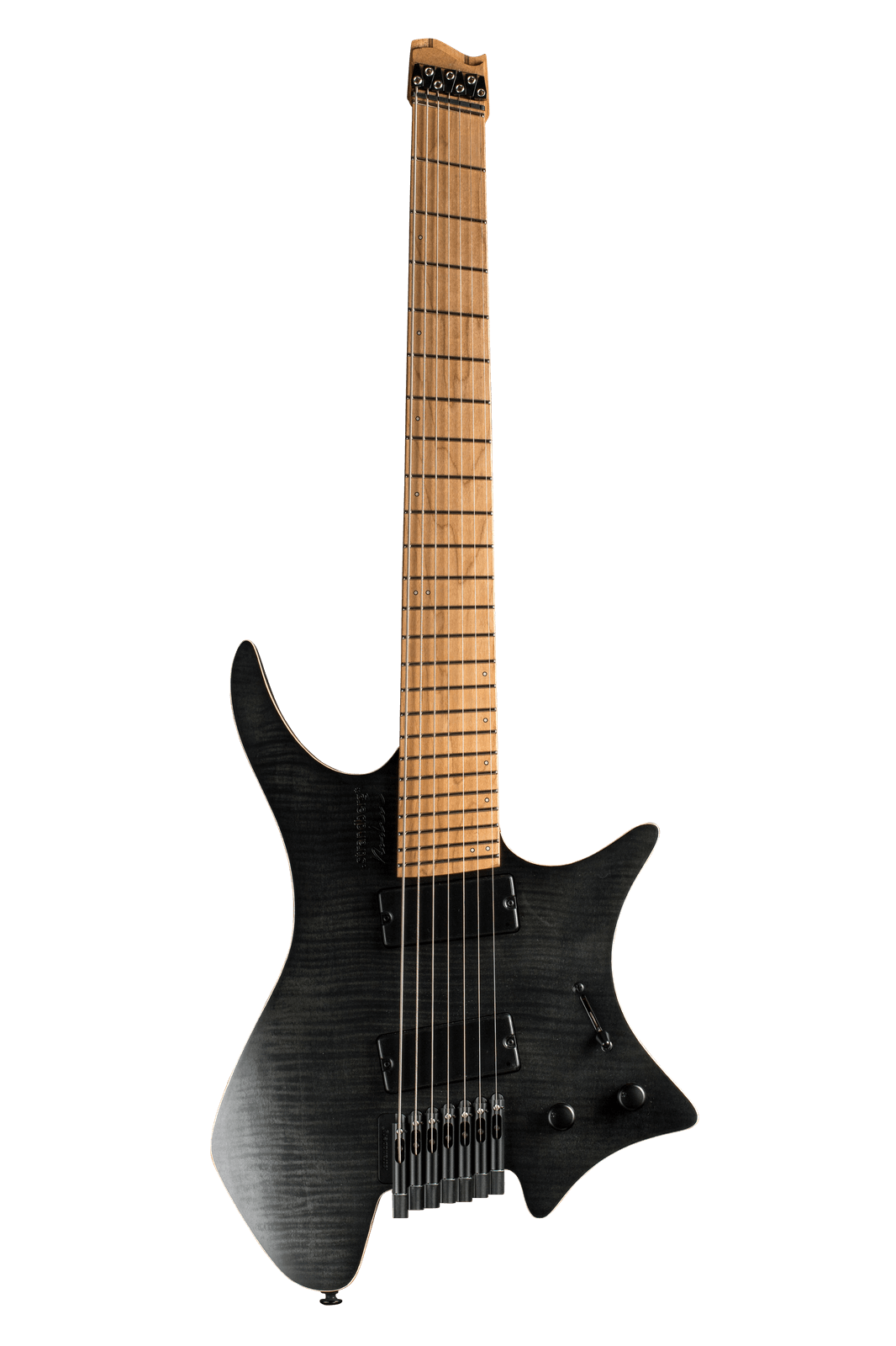 Boden Standard 7-string guitar Maple Flame Black