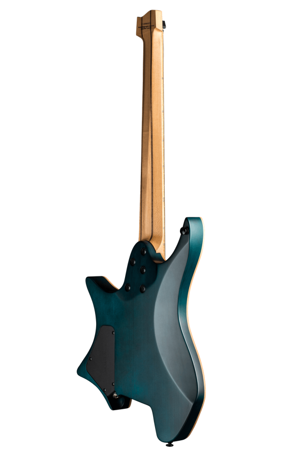 Boden Standard 7 maple flame blue back view endure neck