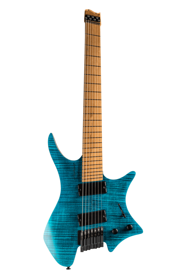 Boden Standard 7-string guitar Maple Flame Blue