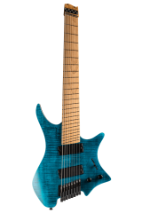 Boden Standard 8 string guitar Maple Flame Blue