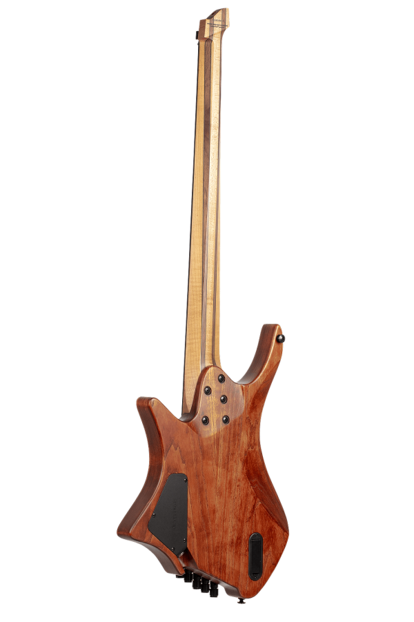 Headless Boden 5-string bass Prog Brown back view