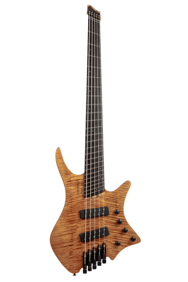 Boden 5-string bass Prog Brown