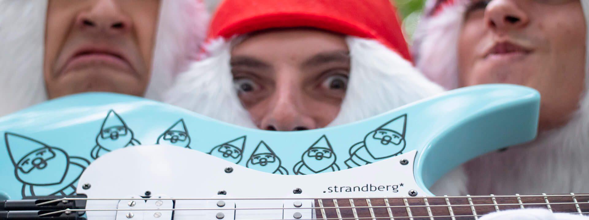 Headless guitar gnome 6 string