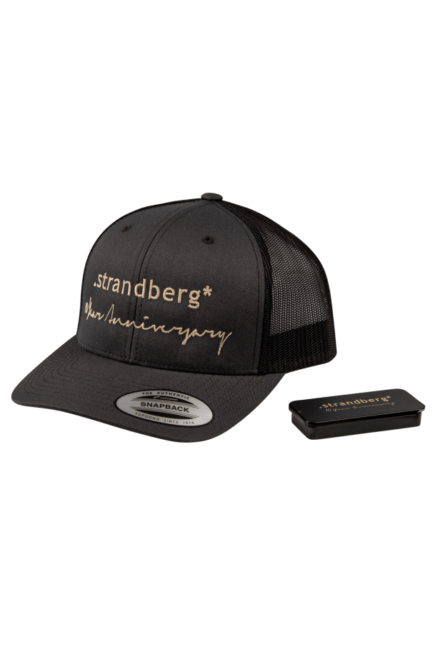 Strandberg 10th Anniversary Hat and Pick Tin Bundle
